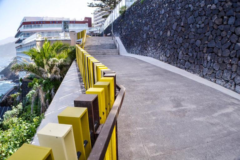 Se abren dos tramos del Paseo de la Costa en Puerto de la Cruz