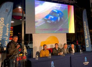 Un momento del acto de presentación de la Subida a Palo Blanco 2019