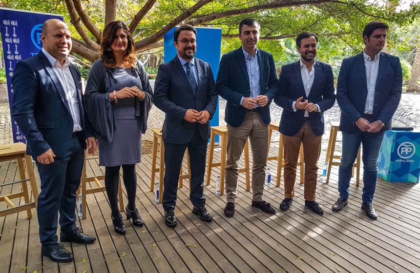 Presentación de candidatos del PP a varias Alcaldías de Tenerife