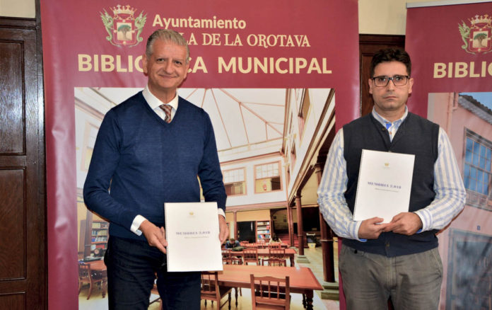 Presentacion de la Memoria Anual de la Biblioteca Municipal de La Orotava