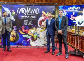 Presentacion del Carnaval 2019 del Puerto de la Cruz