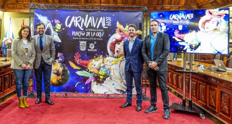 Llega el Carnaval 2019 con referencias al 'espacio exterior'