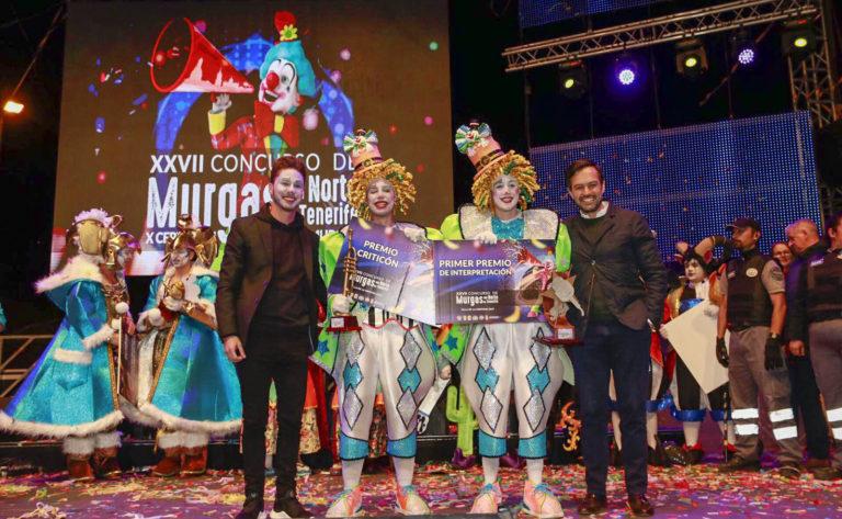 Los Cascarrabias del Puerto de la Cruz ganan el Concurso de Murgas del Norte