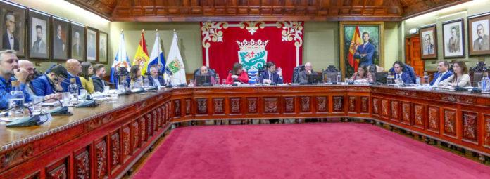 Sesion plenaria del Puerto de la Cruz
