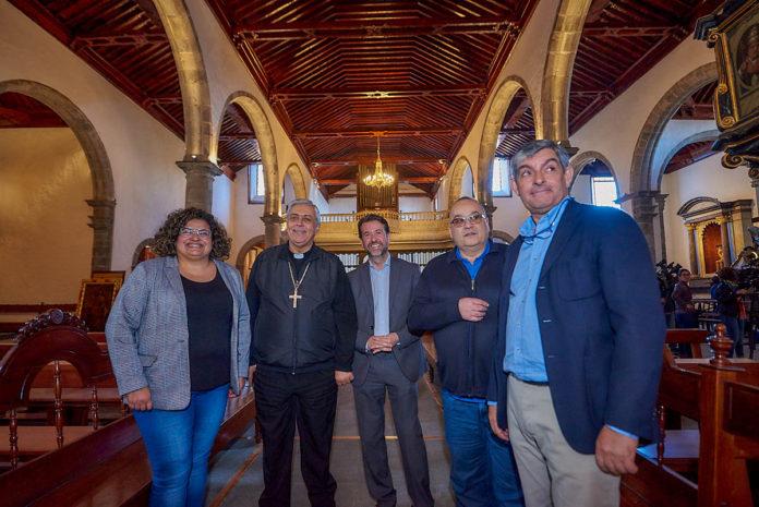 Visita a las obras de la iglesia de San Marcos