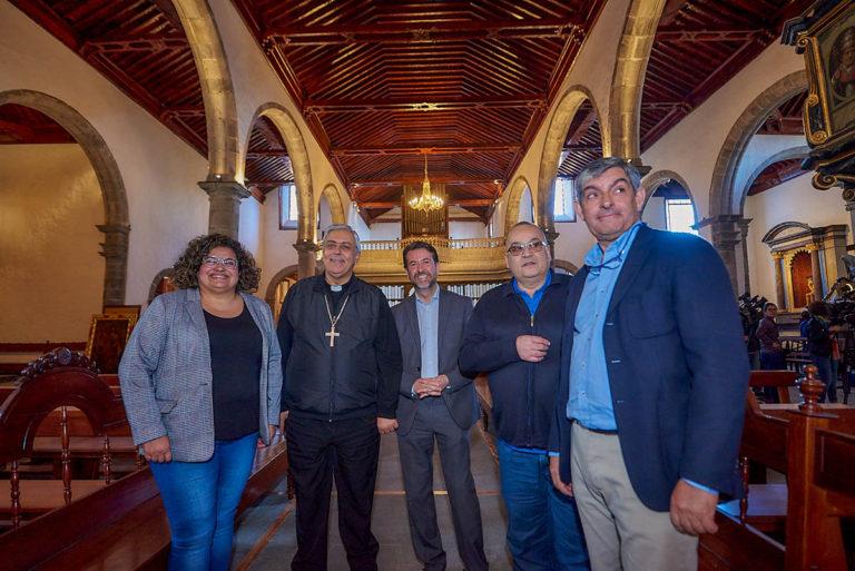 Finaliza la restauración de la iglesia de San Marcos de Icod
