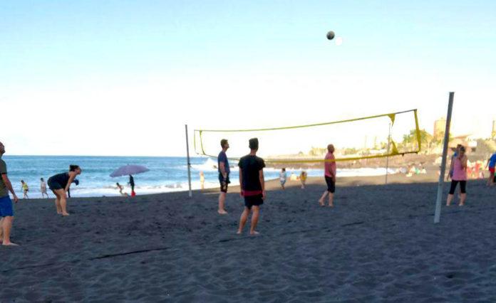 Vóley Playa Jardín