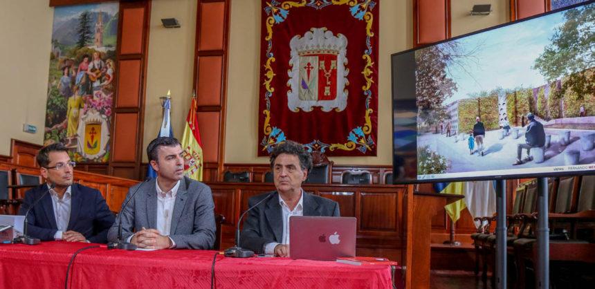 Presentación del proyecto ante los medios de comunicación