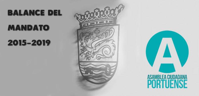 Balance de gestion de Asamblea Ciudadana Portuense