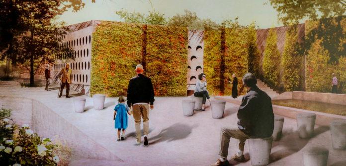 Proyecto del Cementerio Parque de Menis