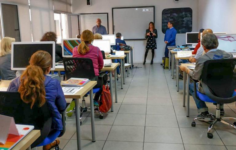 15 desempleados participan en programa formativo teórico-práctico