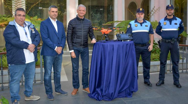 El Ayuntamiento de La Orotava adquiere un dron para la Policía Local y la Oficina Técnica