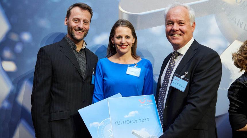 El Hotel Botánico recibe el premio 'TUI Holly' 2019