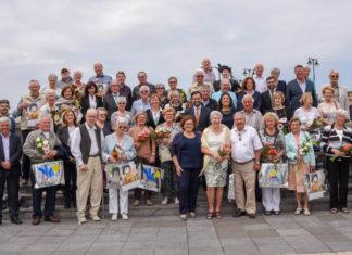 Entrega de Premios anuales del CIT a turistas asiduos
