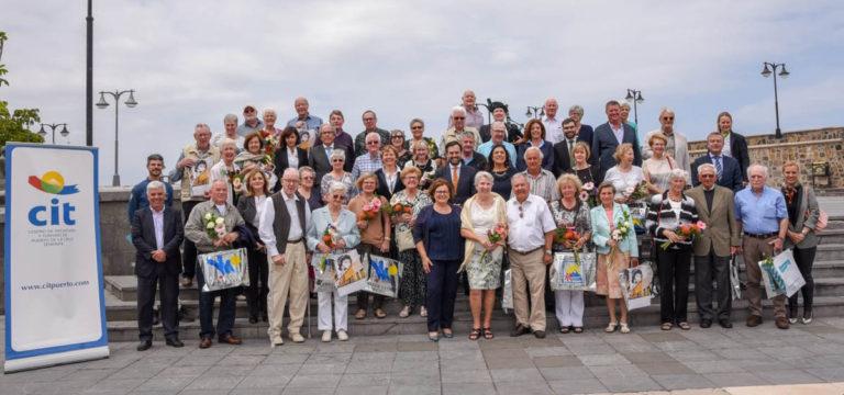 El CIT reconoció a los turistas asiduos que visitan Puerto de la Cruz