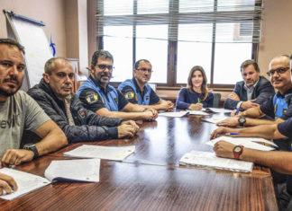 Firma del acuerdo entre el Ayuntamiento y la Policía Local