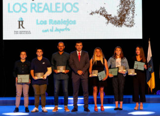 Premiados en la reciente Gala del Deporte 2018