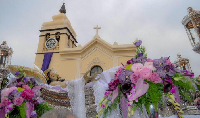 Procesión en la Semana Santa de La Orotava (Foto Rubén Marichal)