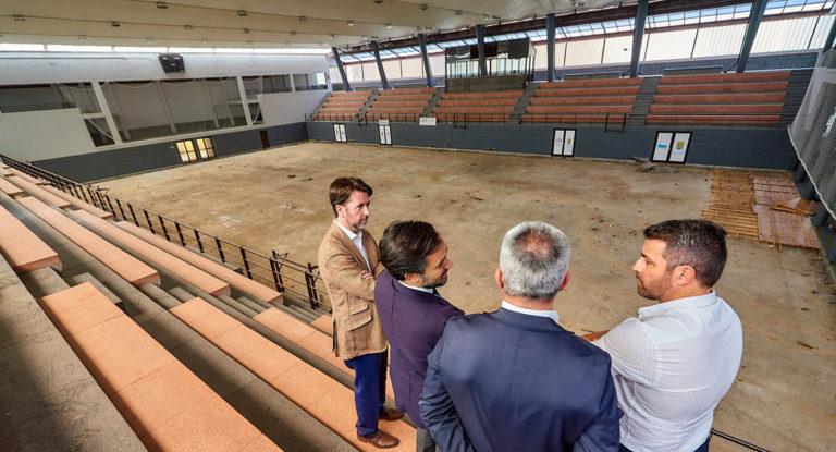 Se invertirán 118.000 euros en el pavimento del Pabellón Miguel Ángel Díaz Molina
