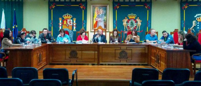 Sesion plenaria del Ayuntamiento de La Guancha