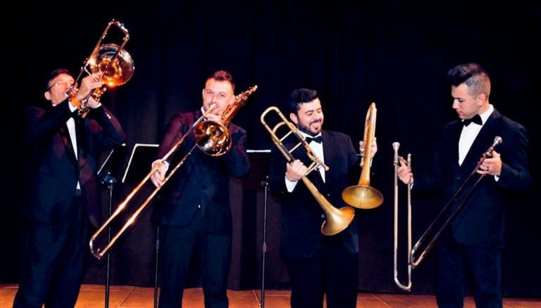 'Tenerife Trombone Quartet' este domingo en los 'Matinee concerts'