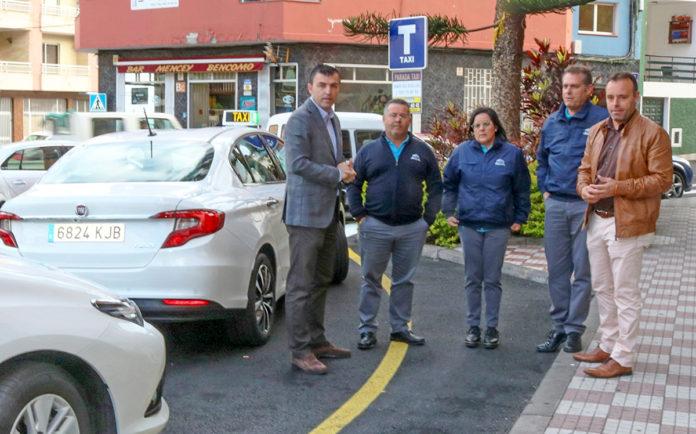 Reunión con sector del taxi