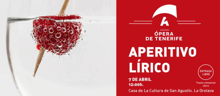 Este domingo en La Orotava tendremos un adelanto de la temporada de Ópera 2019-20