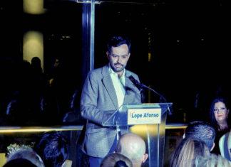 Intervención de Lope Afonso en la presentación de su candidatura a las municipales del Puerto de la Cruz