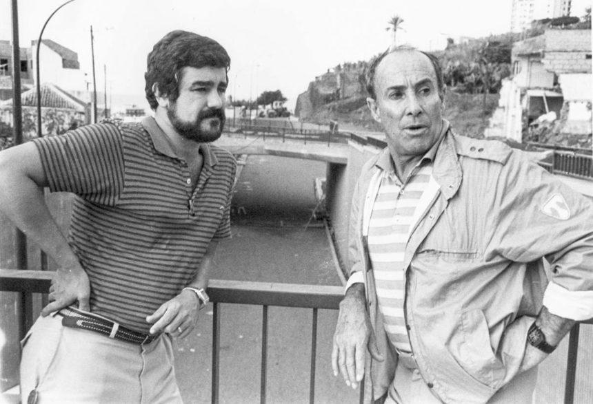 Paco Afonso y César Manrique