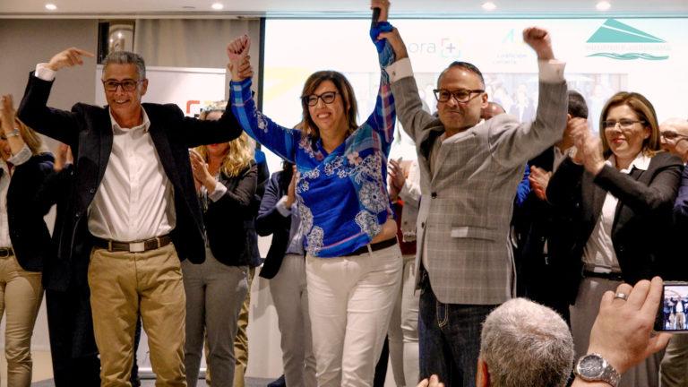 Coalición Canaria presentó públicamente su plancha electoral