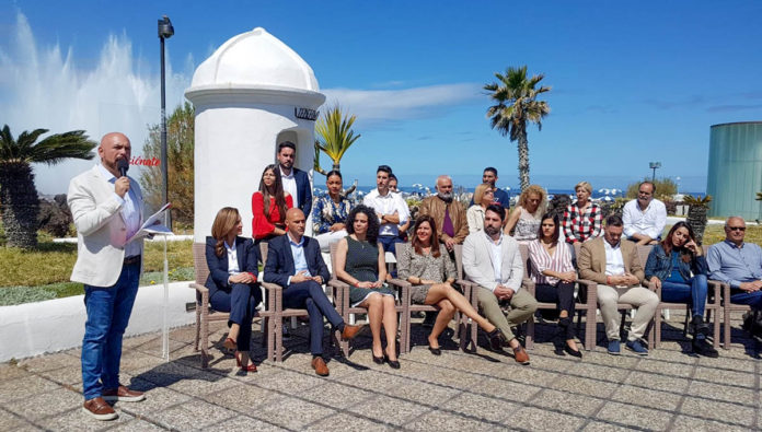 Presentacion ante los medios de la Plancha Electoral del PSOE