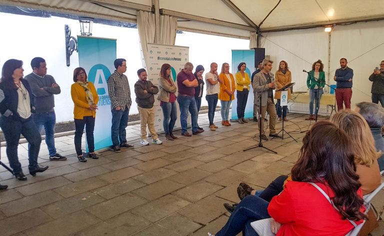 Se presentaron públicamente los candidatos de Asamblea Ciudadana a las municipales