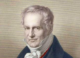 Retrato de Alexander Von Humboldt