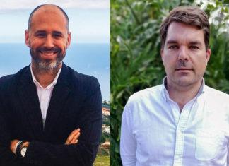 Ricardo Acosta (Los Realejos) y Antonio Luque (La Orotava).