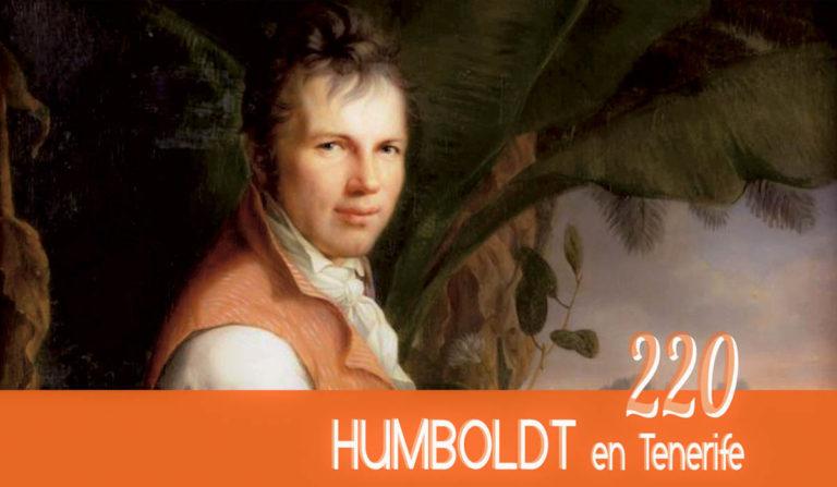 En Junio se conmemorarán los 220 años de la visita de Humboldt a Tenerife