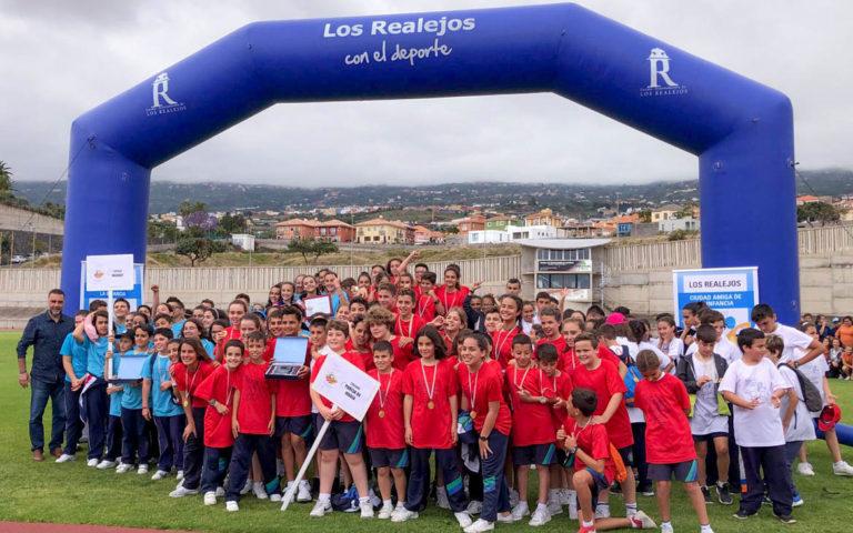 600 escolares de Los Realejos participan en las VI Miniolimpiadas del municipio