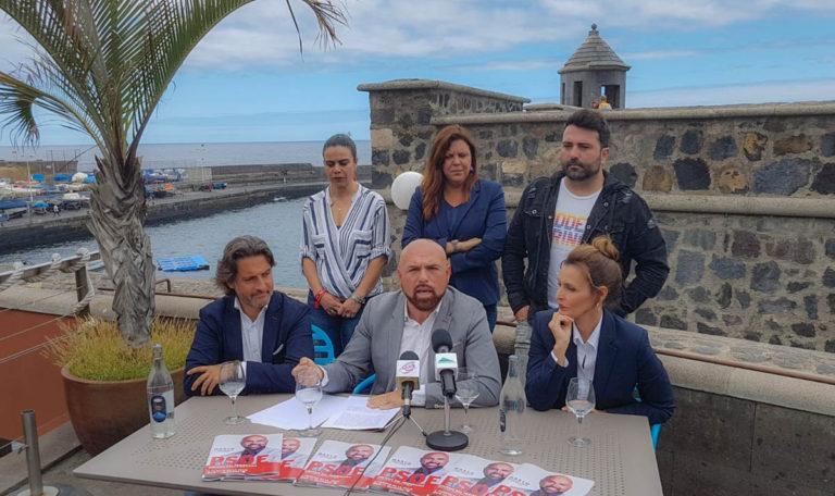 El PSOE señala que su programa electoral es un contrato vinculante con los portuenses