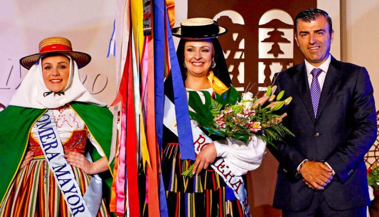 Adriana Hernández, Romera Mayor de las Fiestas de Mayo de Los Realejos