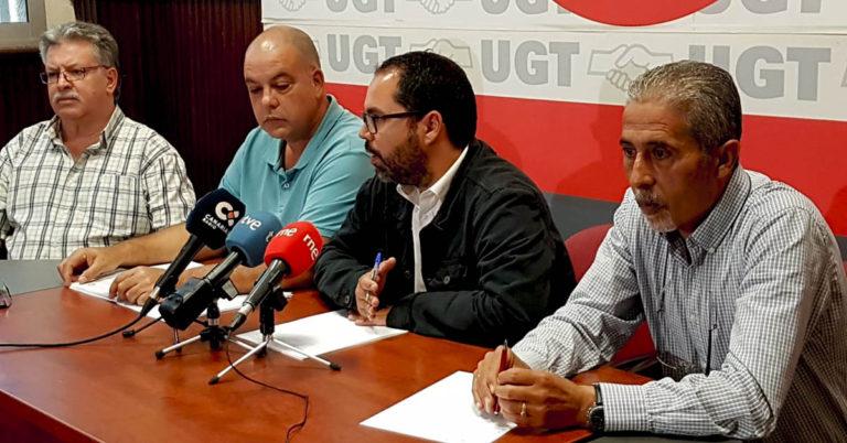 La UGT denuncia que el Grupo de Gobierno del Ayuntamiento del Puerto de la Cruz dilata injustamente el abono del dinero que le debe a sus trabajadores