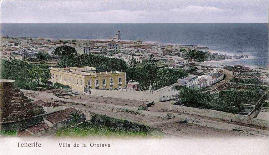 A la derecha la Calle de La Hoya (Foto aportada por Miguel Bravo)