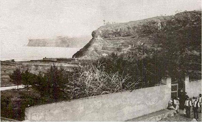 Antigua imagen de la calle de La Hoya (Autor anónimo)