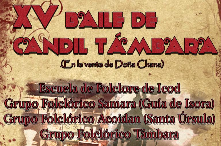 El Parque Cultural Doña Chana acoge este sábado el XV Baile de Candil Támbara