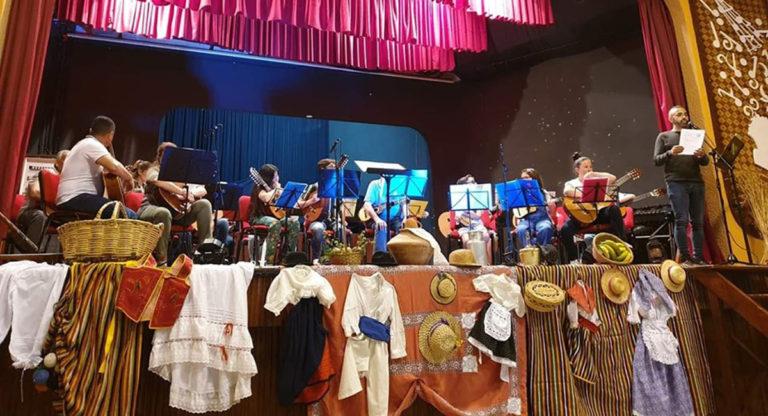 Acto de clausura del curso de la Escuela Municipal de Folclore de La Guancha