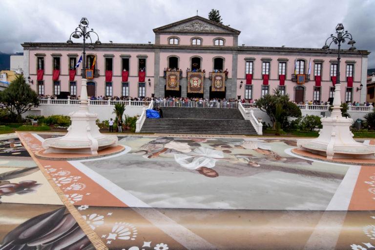 Imágenes para el recuerdo del día de las alfombras de La Orotava