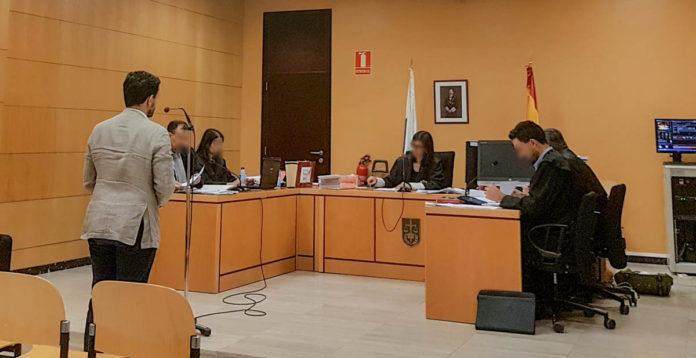 Declaracion de Lope Afonso en el juicio celebrado el 18 de junio de 2019
