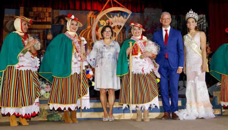 Elegida Yacaré García Cruz como Romera Mayor de las Fiestas de La Orotava