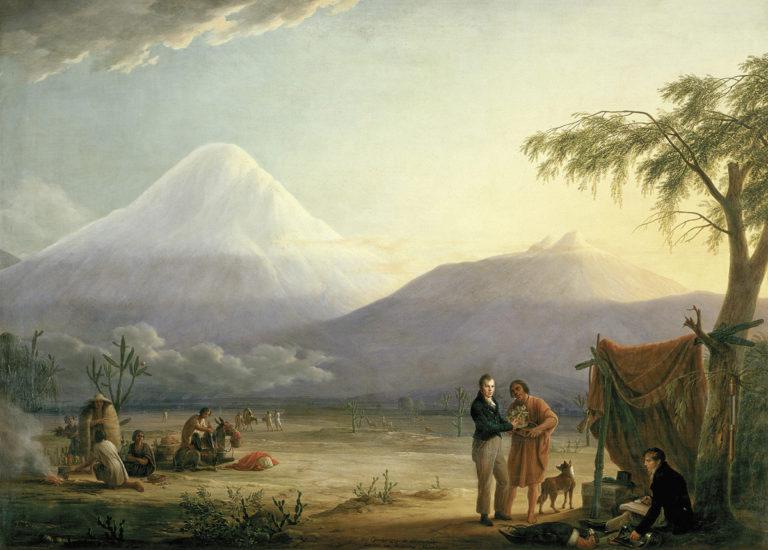 Chimborazo: el seguimiento de Humboldt