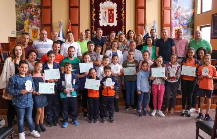 III Concurso de reciclaje escolar 2018-2019