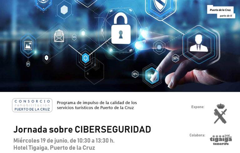 Este miércoles se realizará una Jornada de Ciberseguridad para empresas del Puerto de la Cruz