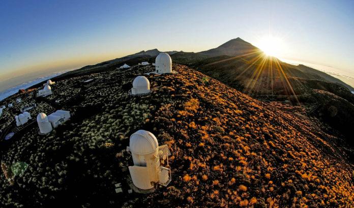 Observatorios de Las Cañadas del Teide